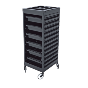 CERIOTTI EASY TROLLEY BLK - BLK DRAWERS