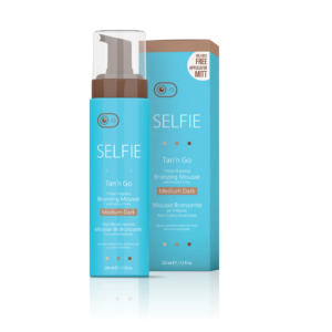 Selfie® Tan'n Go® Mousse-Medium Dark 7.5oz